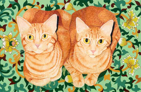 Ginger Cat Brother