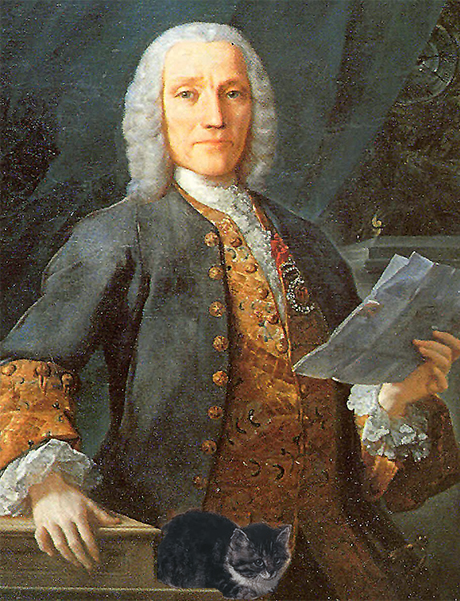 Scarlatti and his cat