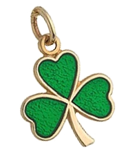 shamrock leaf trinket