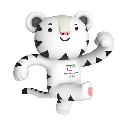 Soohorang, mascot of the PyeongChang 2018 Olympic Winter Games