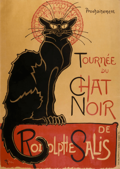 'Chat Noir' Nightclub 1896