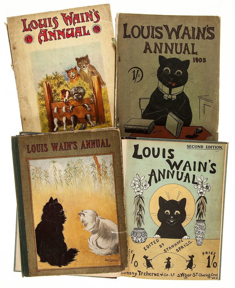 Annuals By Lois Wain